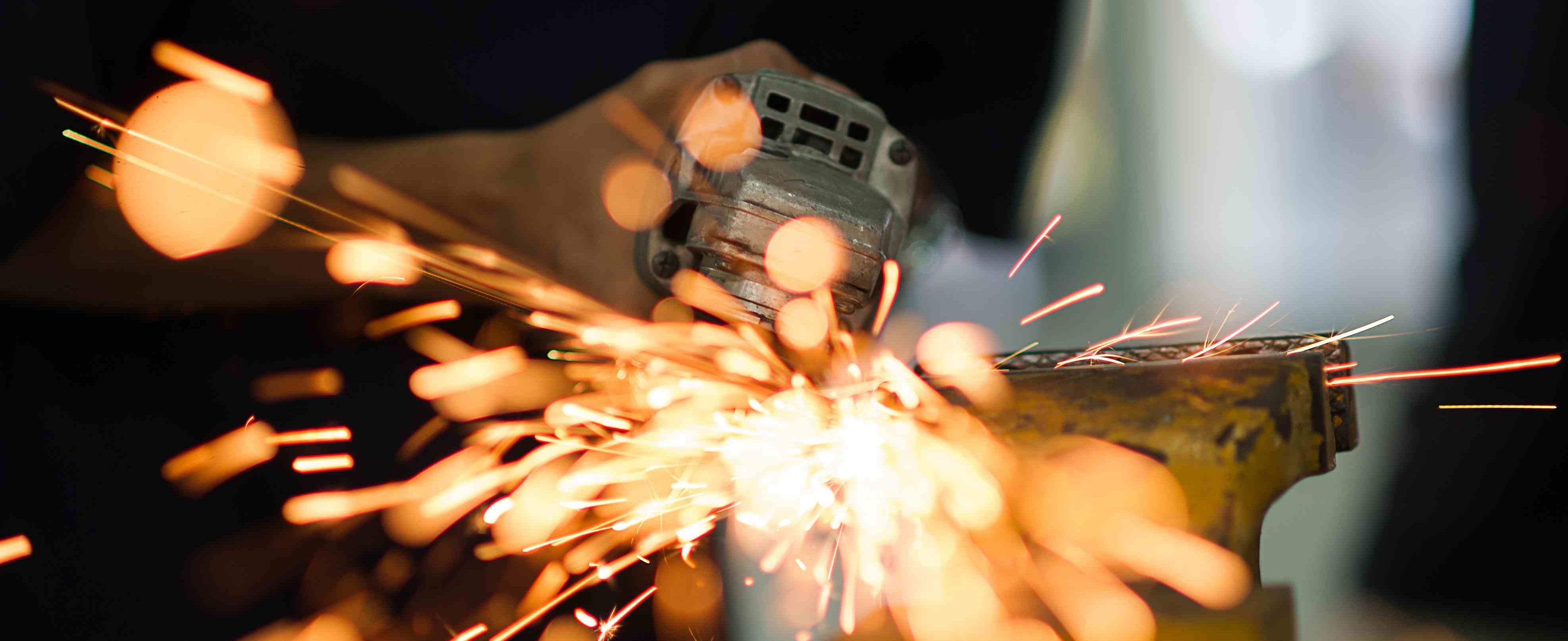 Image of welding process