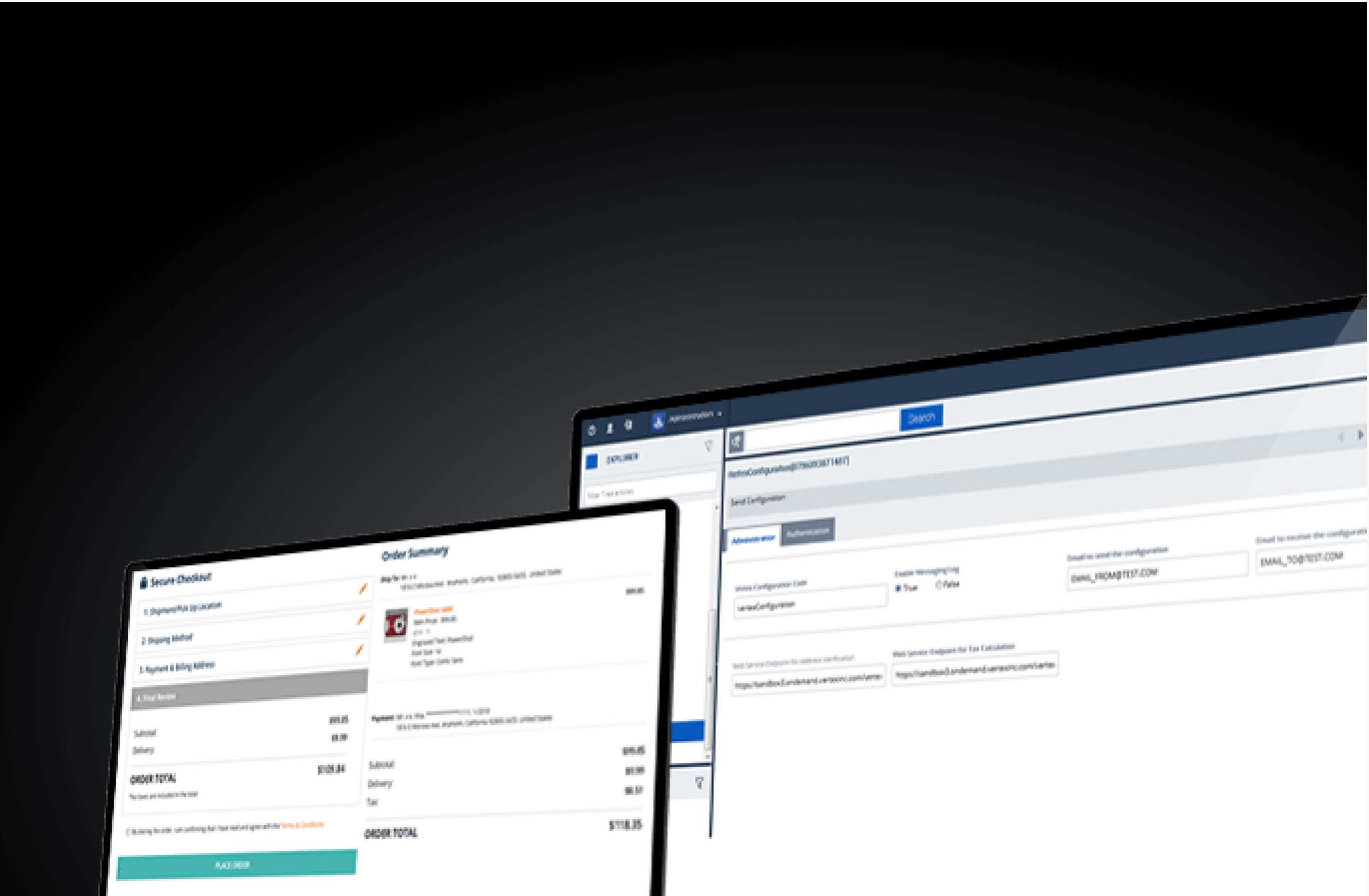 Vertex Indirect Tax for SAP Commerce Cloud background image